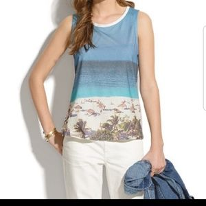 Madewell Beach day tank Sz XS